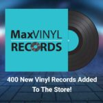400 new vinyl records