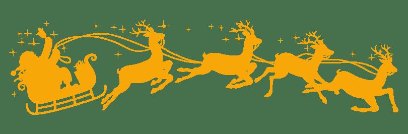 Yellow sleigh