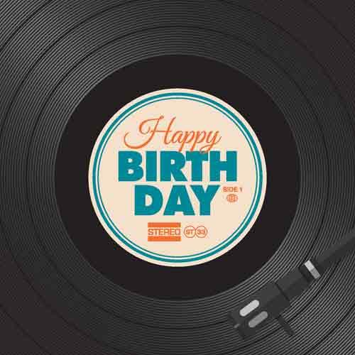 Happy Birthday Record